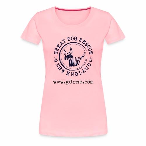 GDRNE Logo - Women's Premium T-Shirt