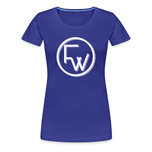 A Funny Wilson Production Logo White - Women's Premium T-Shirt