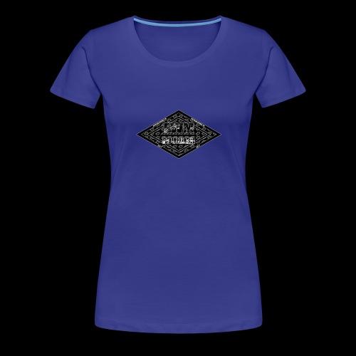 Limited Edition (B&W) FWM Founder Badge - Women's Premium T-Shirt