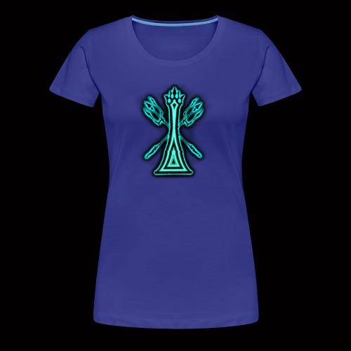 kingoftheblueflame - Women's Premium T-Shirt