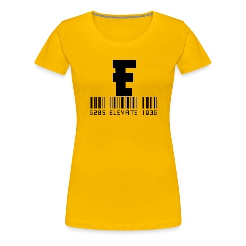 Elevate design - Women's Premium T-Shirt