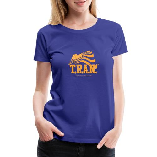 TRAN Gold Club - Women's Premium T-Shirt