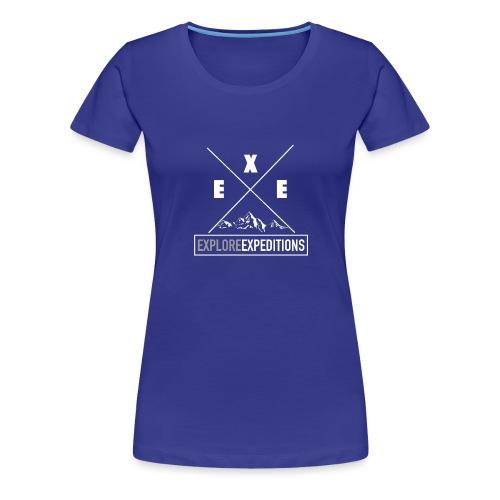 Explore X design - Women's Premium T-Shirt
