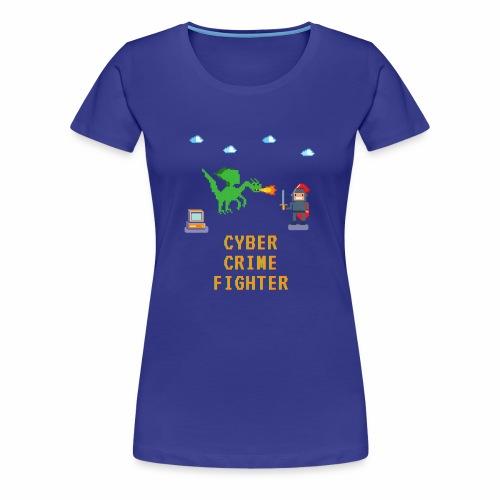 Cyber Crime fighter - Women's Premium T-Shirt