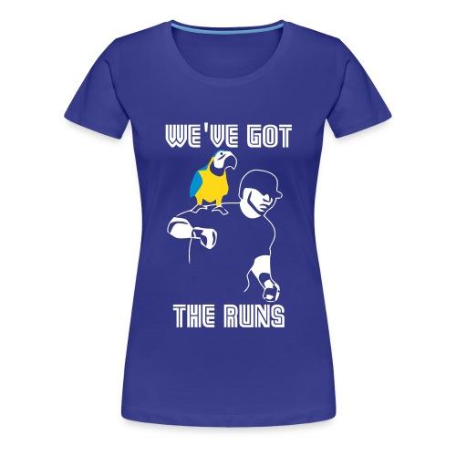 We ve Got The Run Vector - Women's Premium T-Shirt