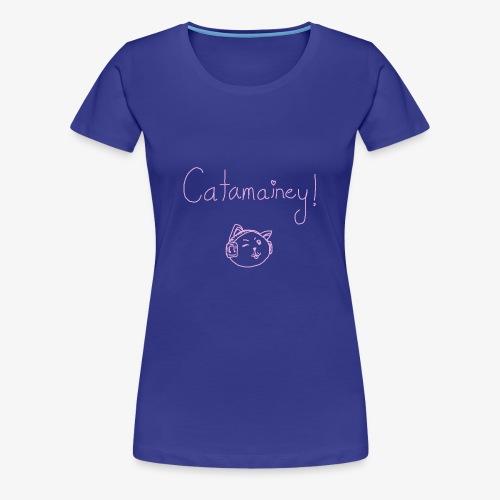 Catamainey Mascot - Women's Premium T-Shirt