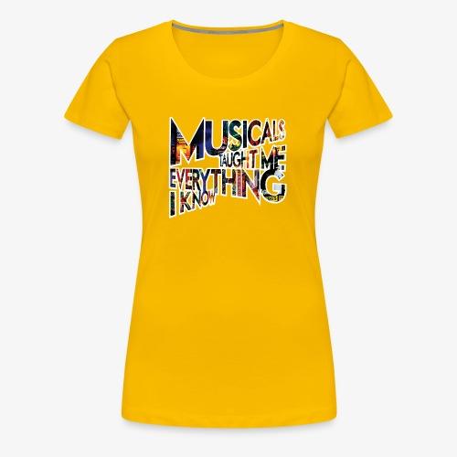 MTMEIK Broadway - Women's Premium T-Shirt