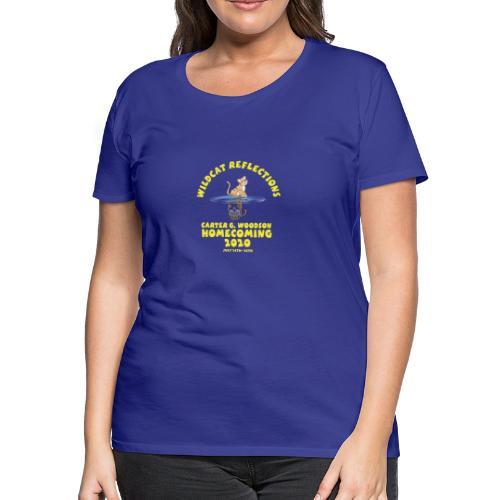 Carter G Woodson Homecoming Logo Yellow - Women's Premium T-Shirt