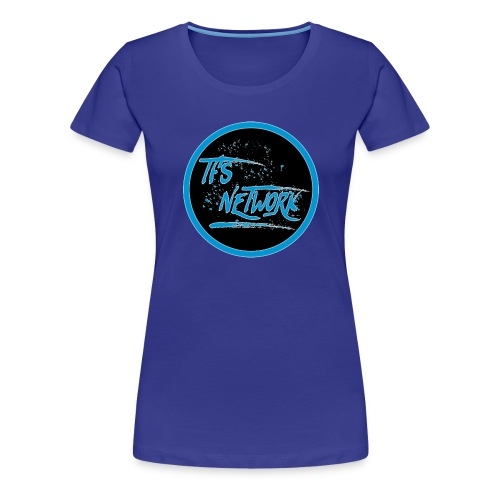TFS Network Logo - Women's Premium T-Shirt