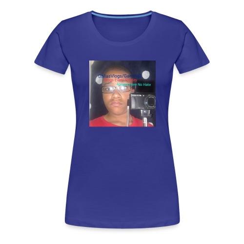 DallasVlogs/Gaming - Women's Premium T-Shirt