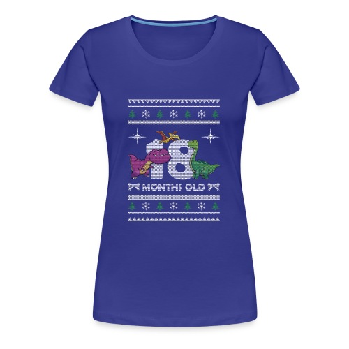 Christmas 18 months old - Women's Premium T-Shirt