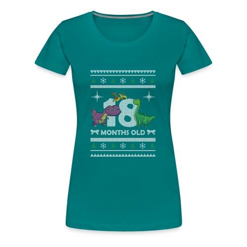 Christmas 18 months old - Women's Premium T-Shirt