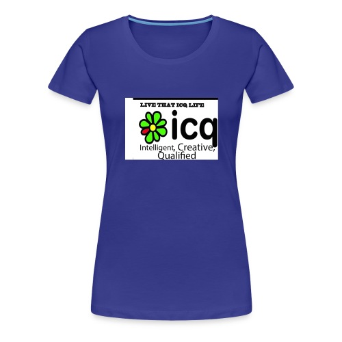 new icq edited - Women's Premium T-Shirt