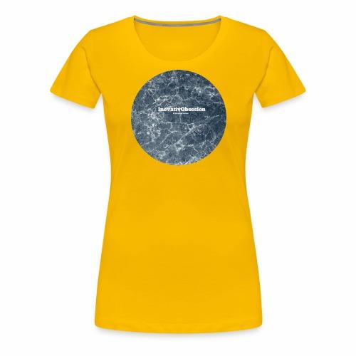 "InovativObsesion ""LEGEND RIPPLE"" apparel - Women's Premium T-Shirt"