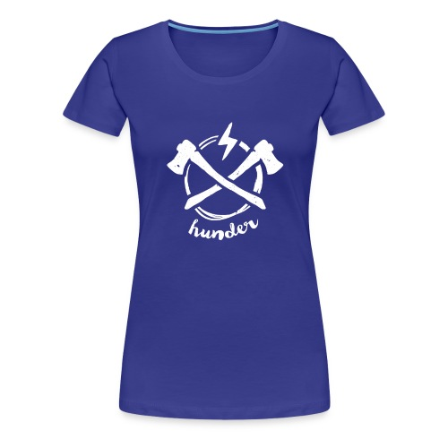 woodchipper back - Women's Premium T-Shirt