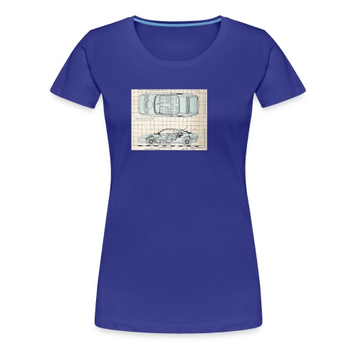 drawings - Women's Premium T-Shirt