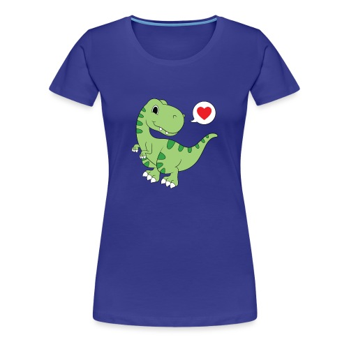 Dinosaur Love - Women's Premium T-Shirt