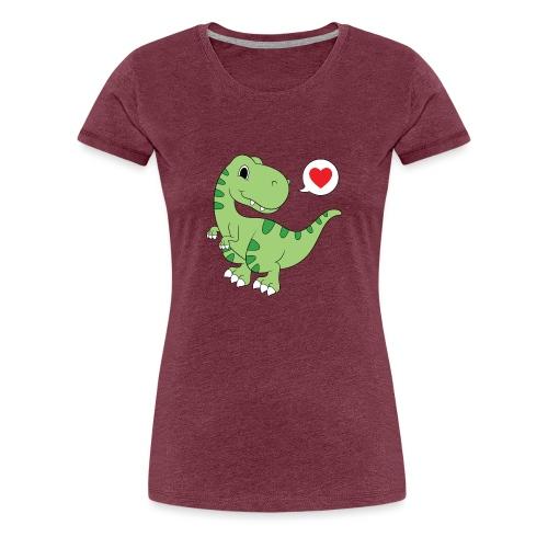 Dinosaur Love - Women's Premium T-Shirt