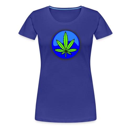 Cannabis Leaf - Women's Premium T-Shirt