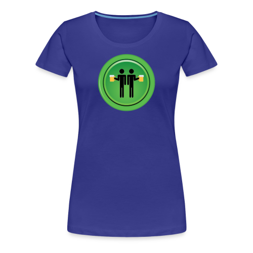 Drinking Buddies Green - Women's Premium T-Shirt