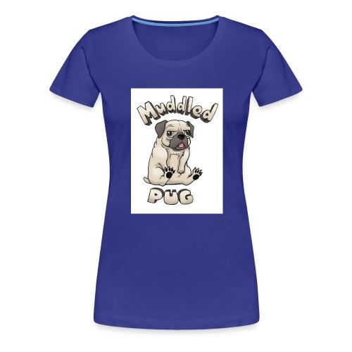 muddled-pug - Women's Premium T-Shirt