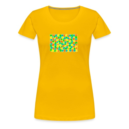 Dynamic movement - Women's Premium T-Shirt