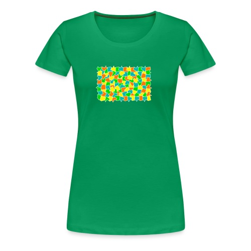 Dynamic movement - Women's Premium T-Shirt