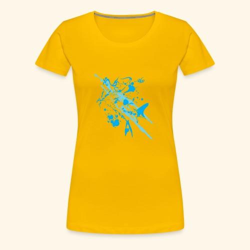 Blue Splash - Women's Premium T-Shirt