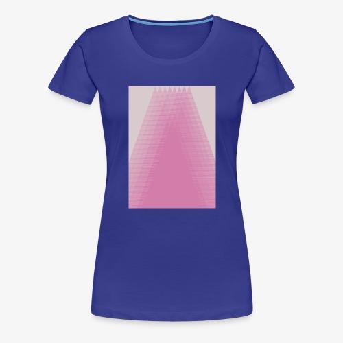 Pink Pyramid - Women's Premium T-Shirt
