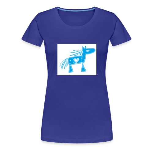 bluehorse2 - Women's Premium T-Shirt