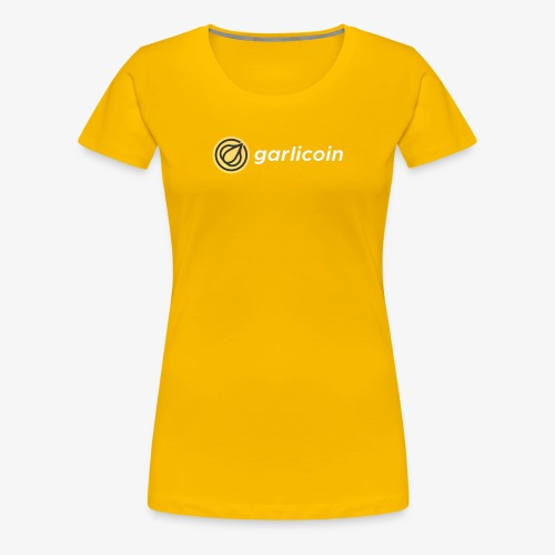 Garlicoin - Women's Premium T-Shirt