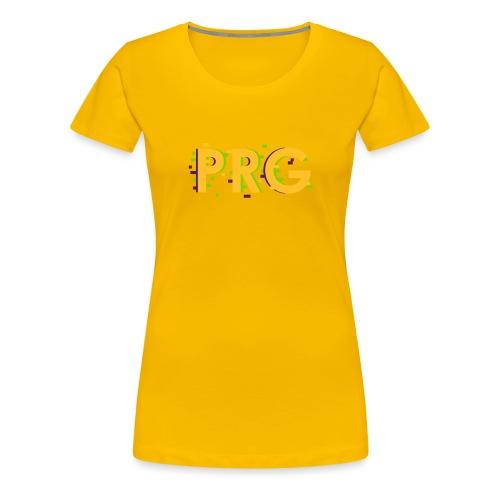 PRG distorted Neon libertarian Design - Women's Premium T-Shirt