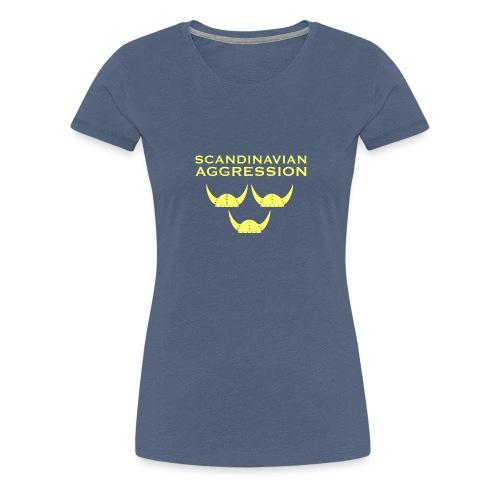 Tre Hjälmar Single-Sided T-Shirt - Women's Premium T-Shirt