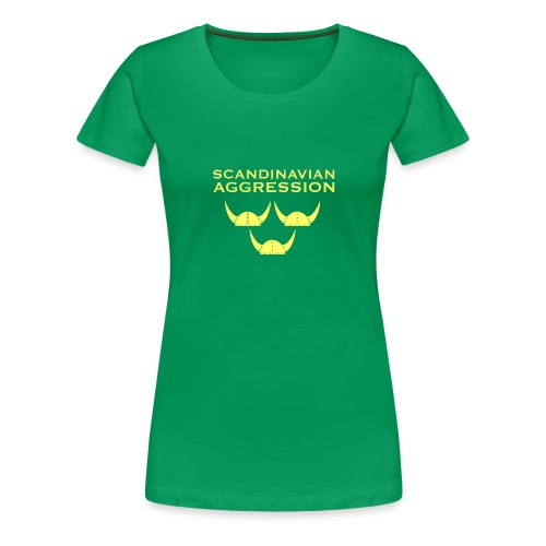 Tre Hjälmar Single-Sided T-Shirt - Women's Premium T-Shirt