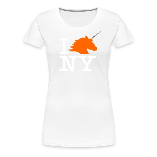 I Unicorn New York (Kristaps Porzingis) - Women's Premium T-Shirt