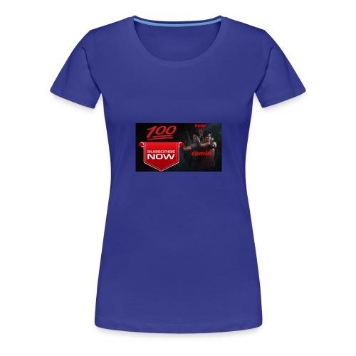 tomfam_vlogs keep it comin - Women's Premium T-Shirt