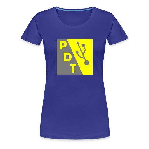 PDT Logo - Women's Premium T-Shirt