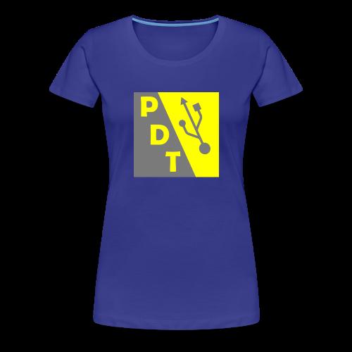 PDT Logo - Women's Premium T-Shirt