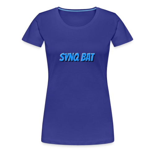 SynQ Bat - Cartoon Logo - Women's Premium T-Shirt