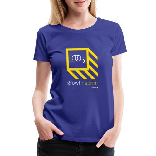 Growth Sprint 1 - Women's Premium T-Shirt