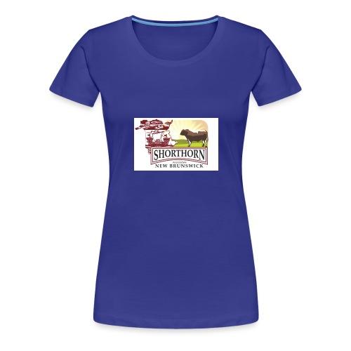 New Brunswick shorthorn - Women's Premium T-Shirt