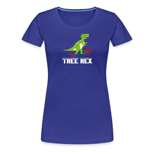 Funny Christmas Dinosaur Tree Rex - Women's Premium T-Shirt