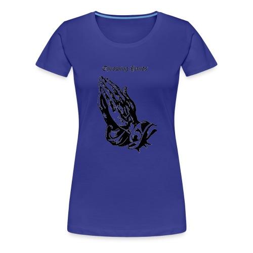 throwinghands - Women's Premium T-Shirt