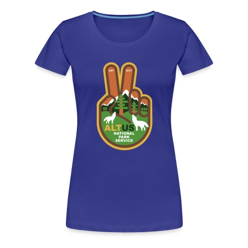 ALT US National Park Service - Peace - Women's Premium T-Shirt