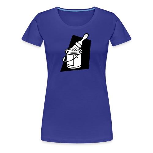 paintbrush - Women's Premium T-Shirt