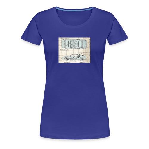drawings - Women's Premium T-Shirt