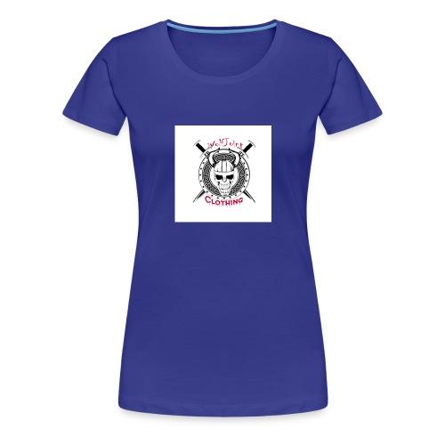 Skull sheild - Women's Premium T-Shirt