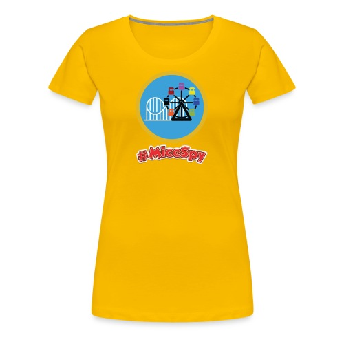 Paradise Pier Explorer Badge - Women's Premium T-Shirt