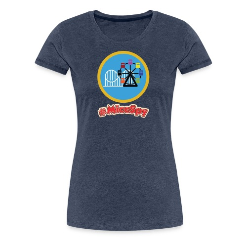 Paradise Pier Explorer Badge - Women's Premium T-Shirt