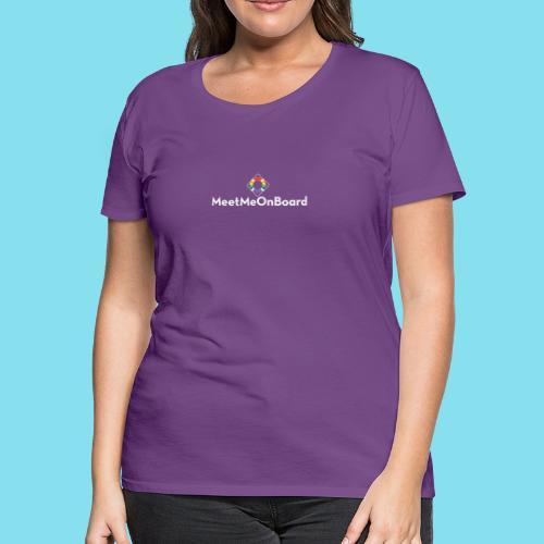MMOB_logo_vert_whitetype - Women's Premium T-Shirt